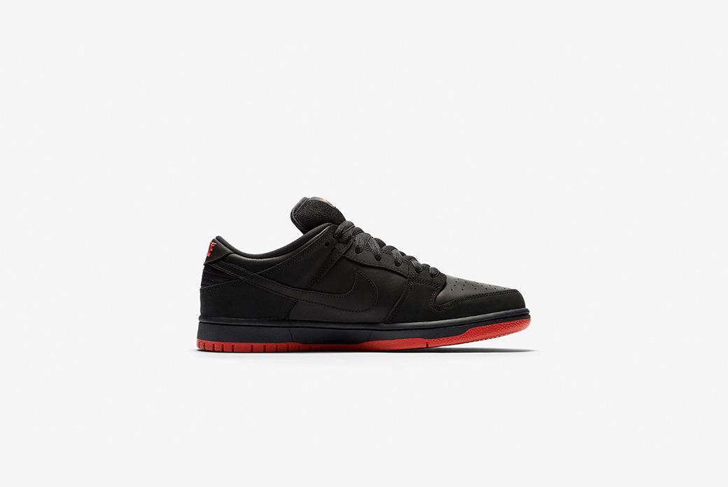Nike SB × Jeff Staple: чёрный голубь