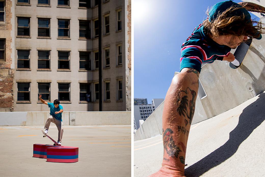 Nike SB × Parra Blazer: красочный минимализм