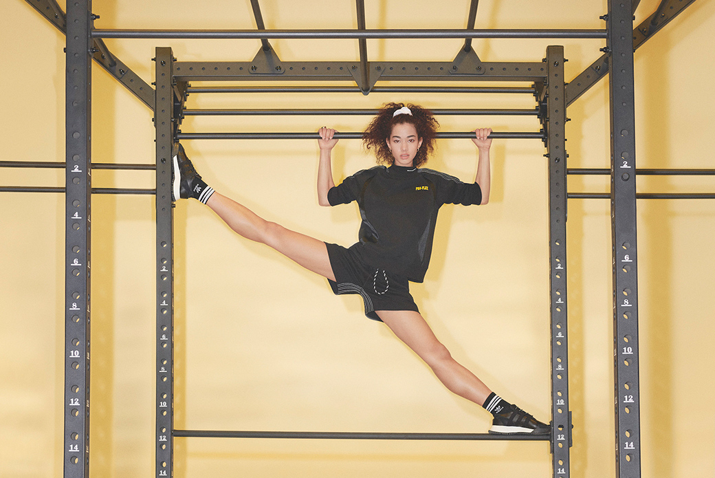 adidas Originals × Alexander Wang: спортивный танец