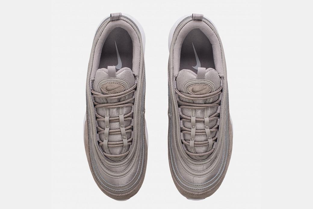 Nike Air Max 97 Cobblestone: ахроматический шик