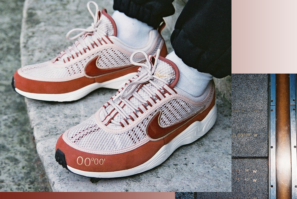 Nike Air Max 98 & Air Zoom Spiridon: нулевой меридиан