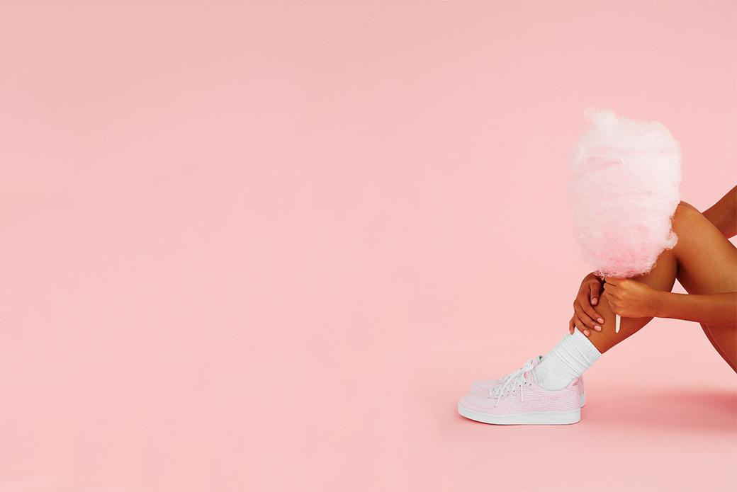 Onitsuka Tiger × Naked GSM Cotton Candy: японский текстиль