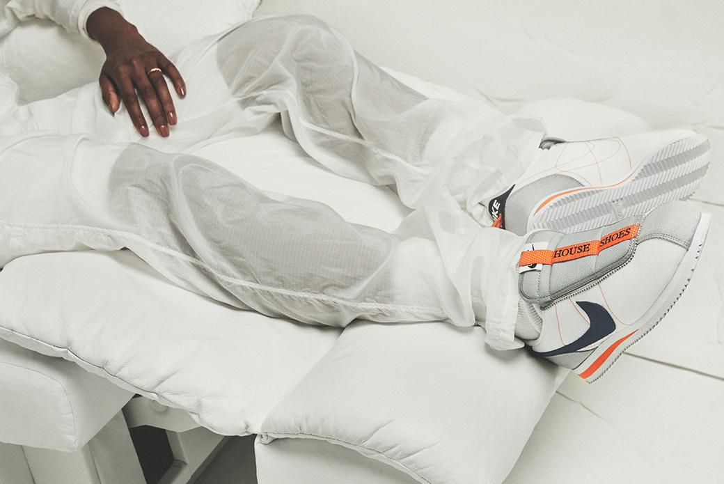 Nike × Kendrick Lamar Cortez Basic Slip: как дома