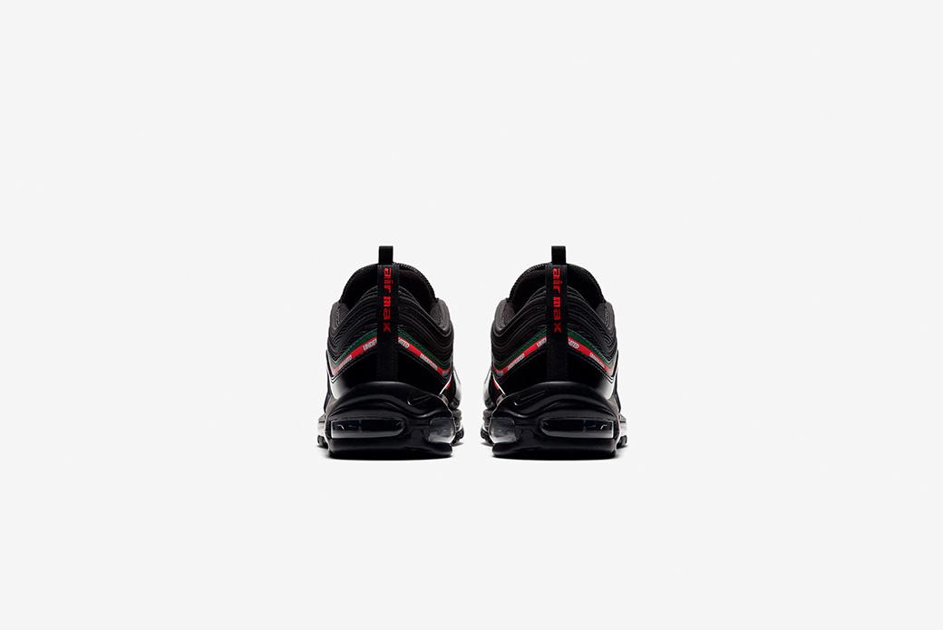 Nike × UNDEFEATED Air Max 97: огонь минимализма