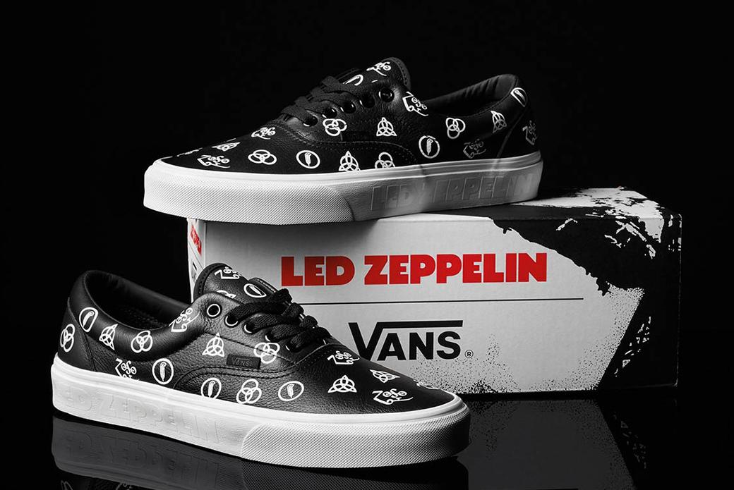 Vans × Led Zeppelin: золотой юбилей