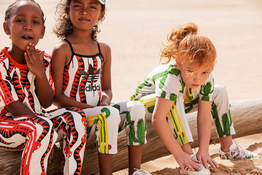 adidas Originals × Mini Rodini: детский мираж