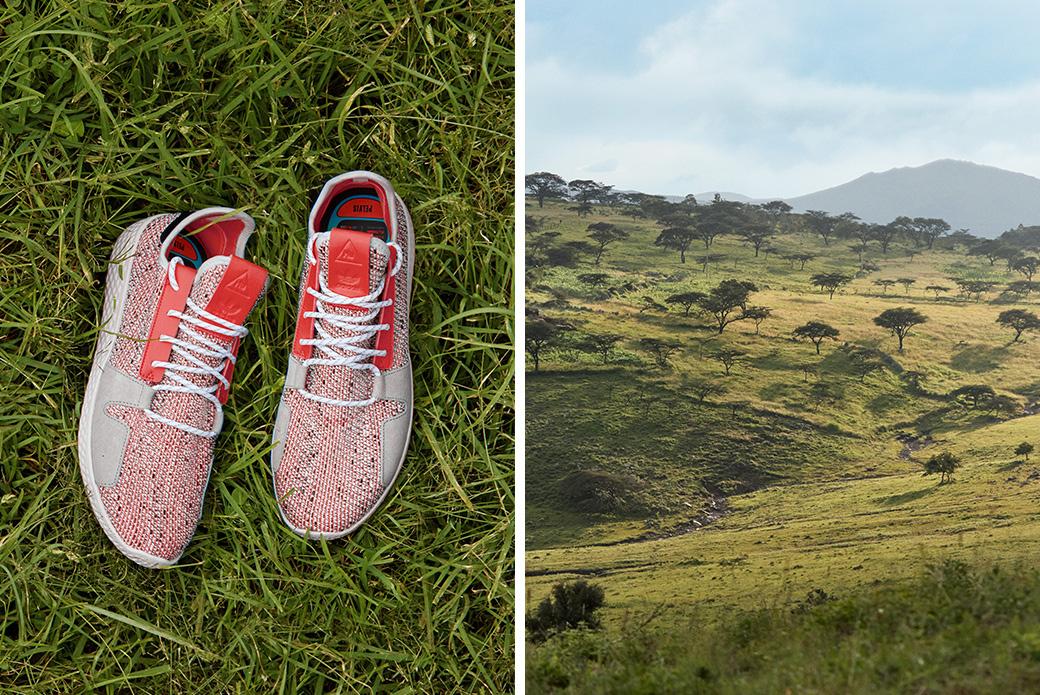 adidas Originals × Pharrell Williams SOLARHU: Восточная Африка