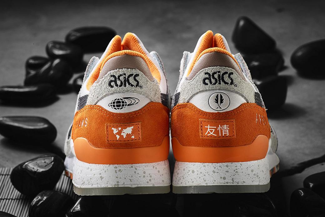 "ASICS × AFEW × BEAMS GEL-Lyte III ""Orange Koi"": редкий вид"