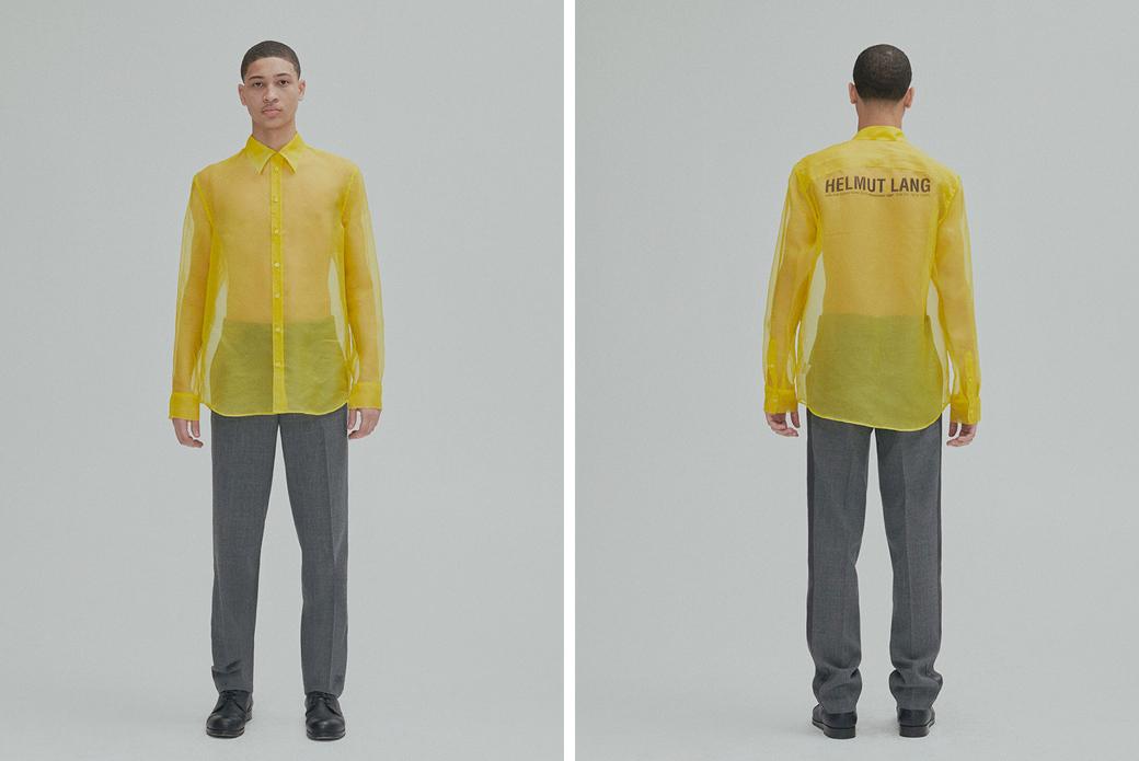 Helmut Lang: утилитарный минимализм