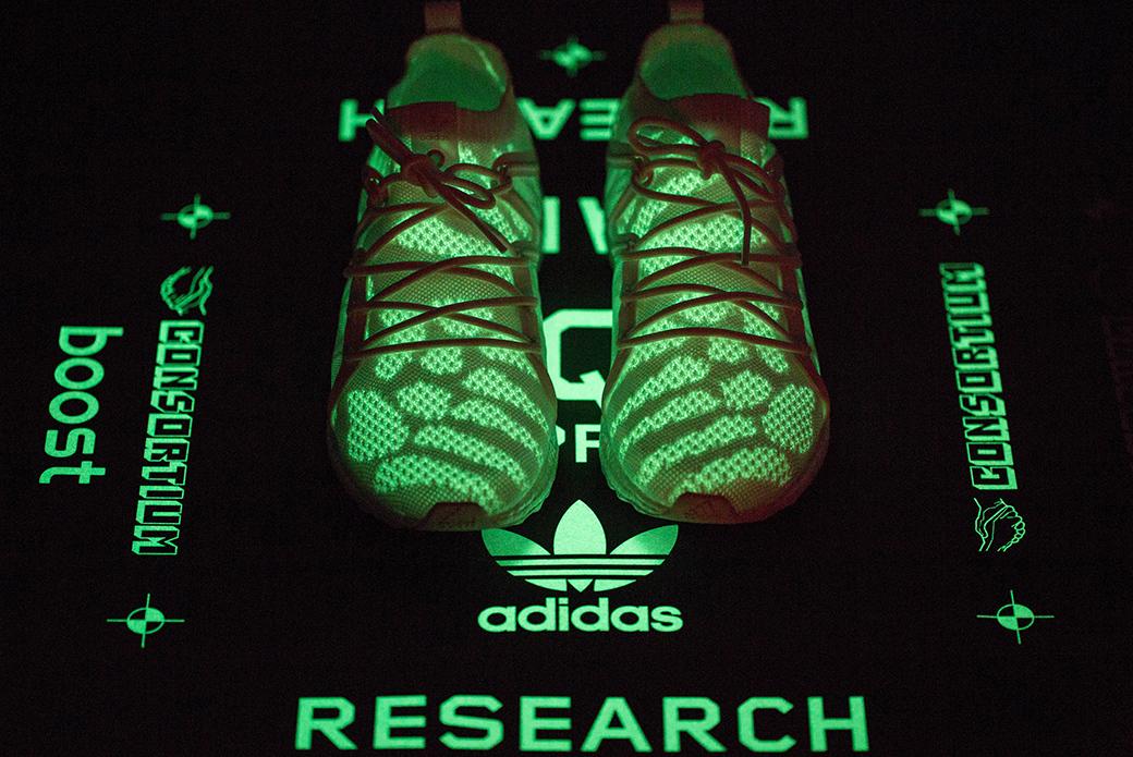 adidas Consortium × BAIT EQT: человек и технологии