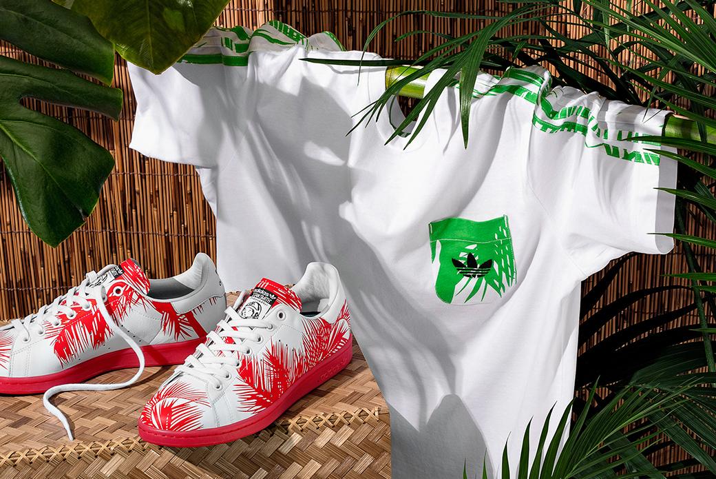 adidas Consortium × Pharrell Williams: эксклюзивная линейка одежды и обуви