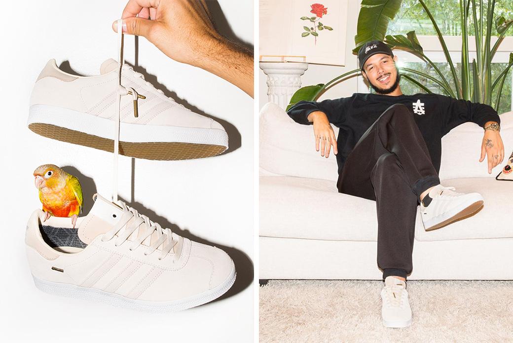 Adidas Consortium × St. Alfred Gazelle: между снегом и дождём