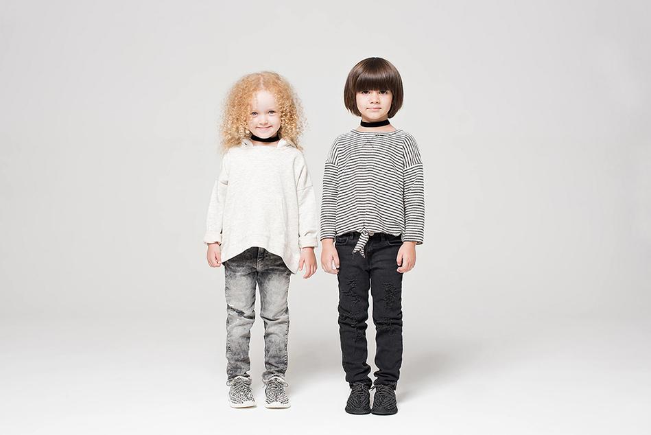 adidas Originals YEEƵY BOOST 350 INFANT: всё по-взрослому