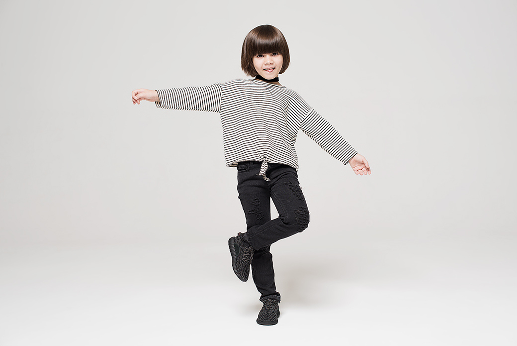 adidas Originals YEEZY BOOST 350 INFANT: всё по-взрослому