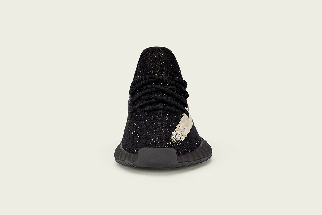 adidas Originals YEEZY BOOST 350 V2: Чёрное/Белое