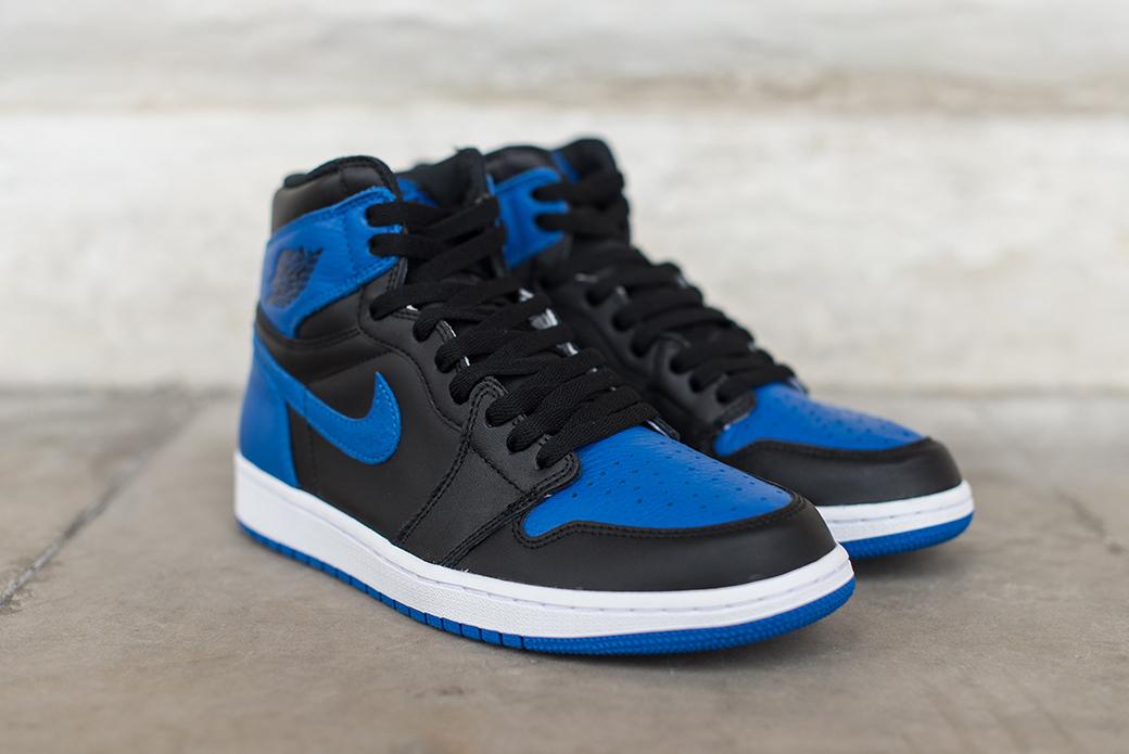 Nike Air Jordan 1 Royal Retro High OG: четвёртое пришествие