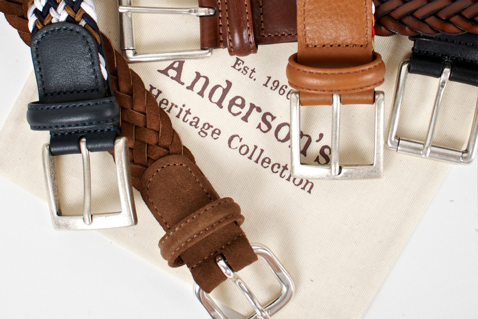 Anderson's: пармские ремни с традицией