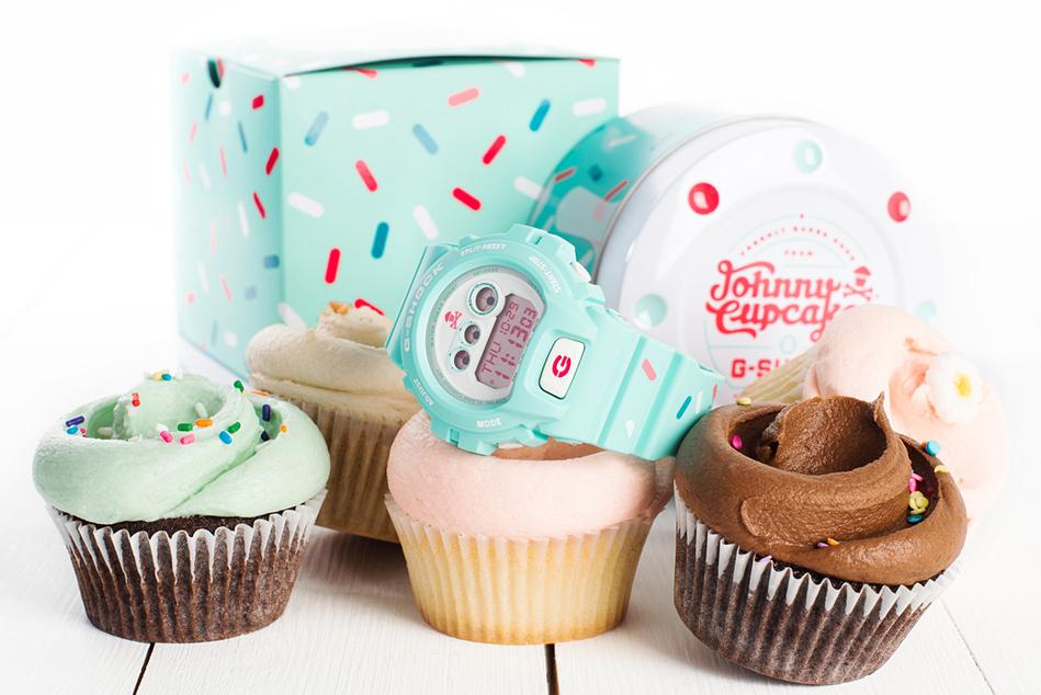G-SHOCK x Johnny Cupcakes