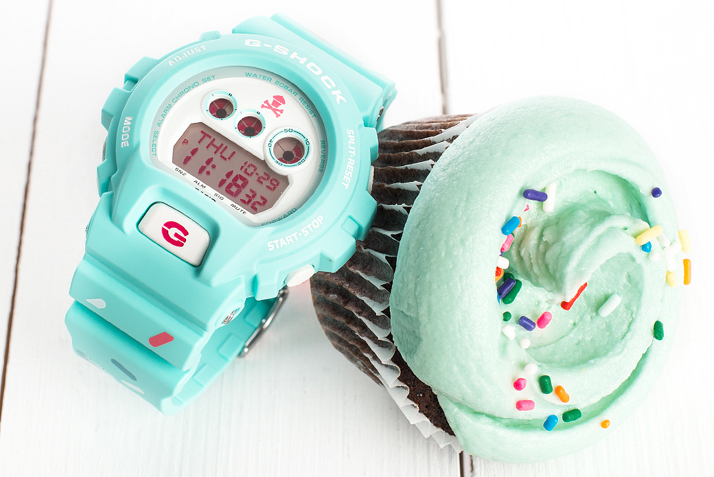 CASIO G-SHOCK x Johnny Cupcakes