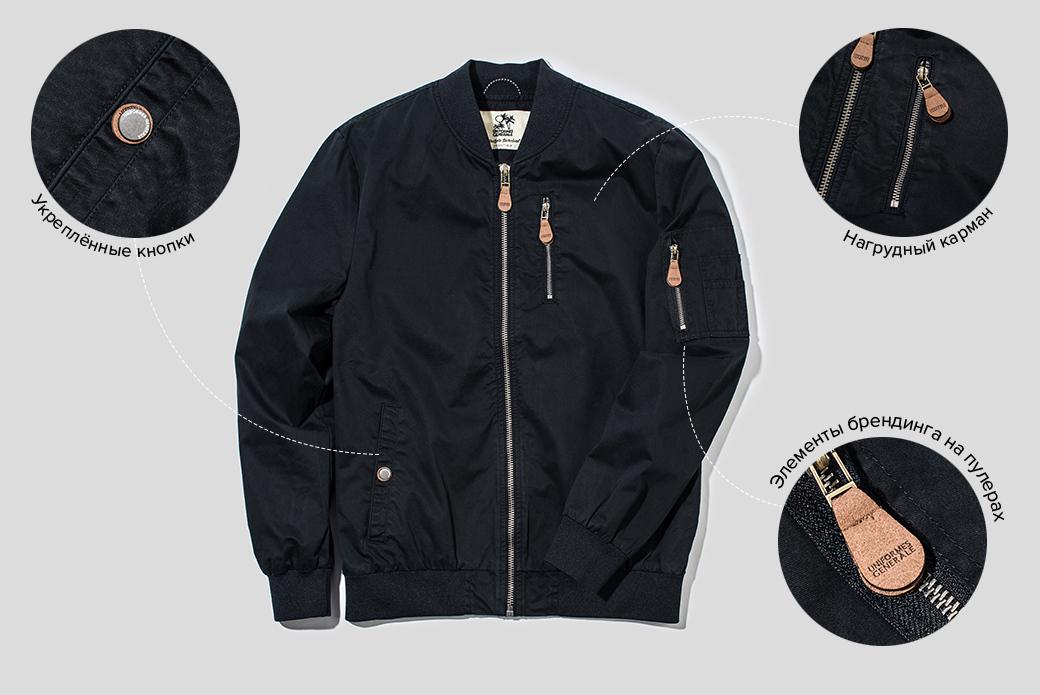 Гид: куртки-бомберы