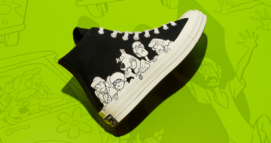 Converse × Scooby-Doo: угадай кто!