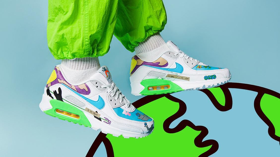 Nike x Ruohan Wang Air Max 90