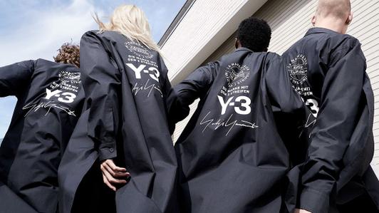 Y-3: союз Йоджи Ямамото и adidas