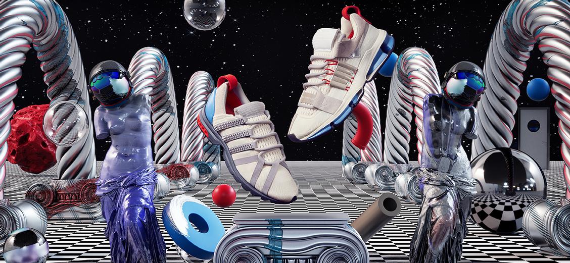 adidas Consortium A//D Pack: параллельная реальность