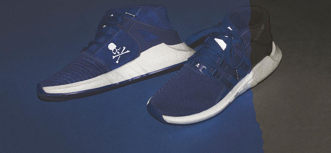 adidas Originals by Mastermind World: сине-чёрное таинство
