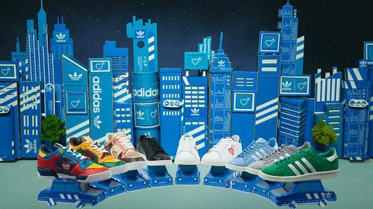adidas Originals x Human Made: работа с архивами