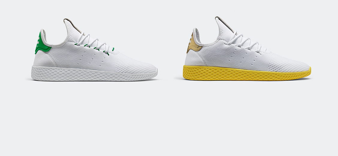 adidas Originals × Pharrell Wiliams Tennis Hu: вдохновляясь классикой