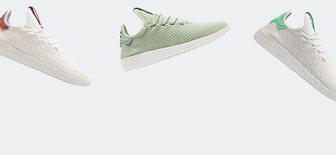 adidas Originals × Pharrell Williams Tennis Hu: пастель