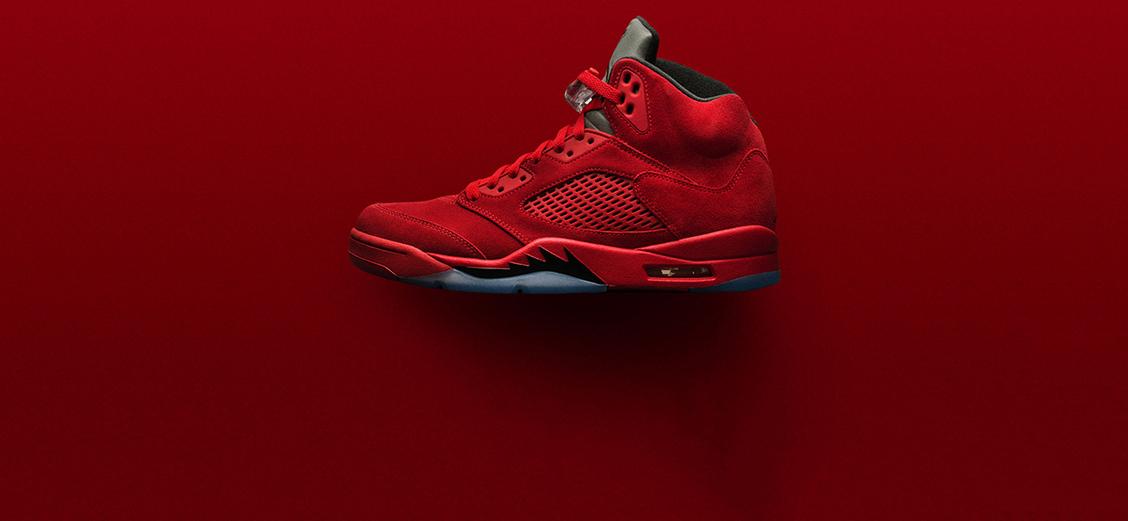 """Air Jordan 5 """"Red Suede"""": реинкарнация красного быка"""