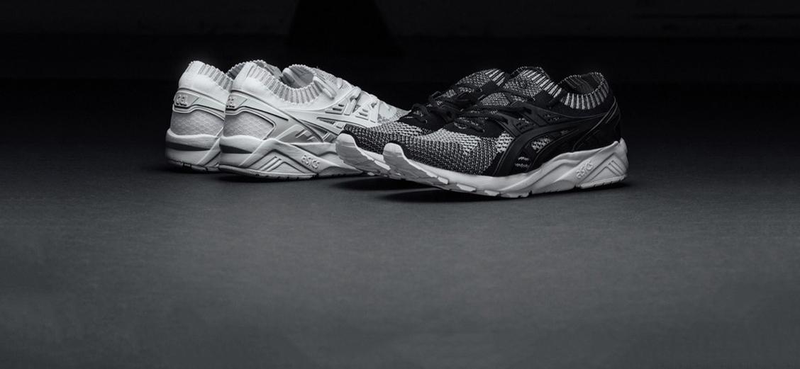 ASICS GEL-Kayano Trainer Knit: рефлективный акцент