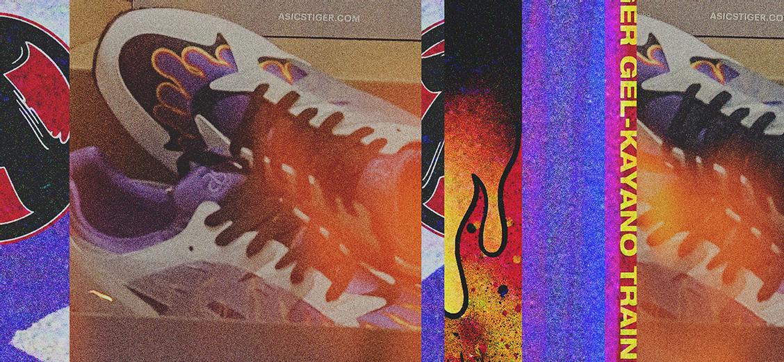 ASICS × Sneakerwolf GEL-Kayano Trainer: период Эдо