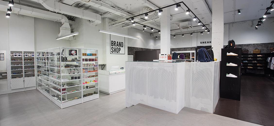 BRANDSHOP: обновление интерьера