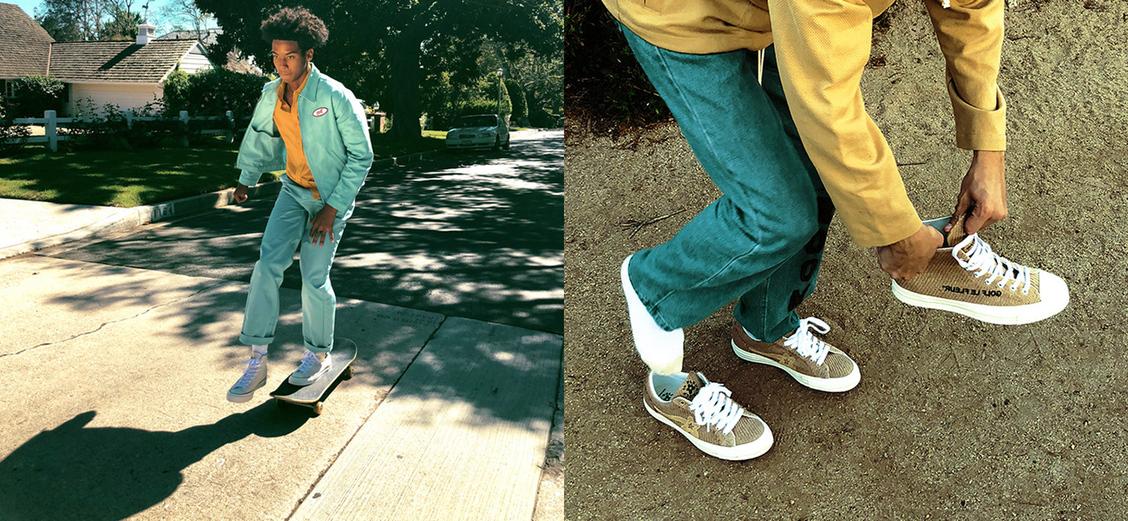 Converse × Tyler, The Creator: новые ткани