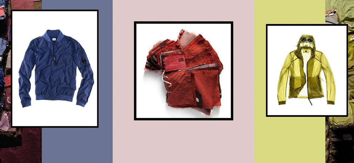 C.P. Company: технология garment dyeing