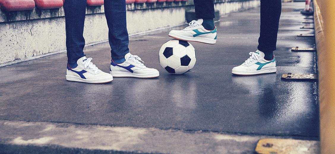 """Diadora B. Elite Italia """"Azzurri 80 Pack"""": футбол и теннис"""