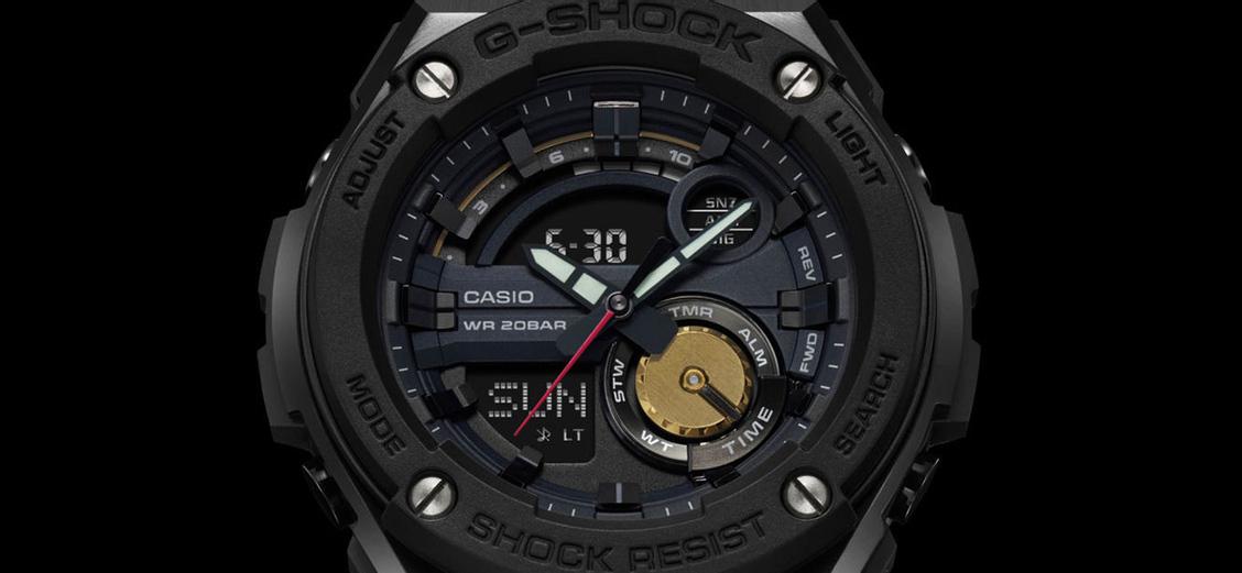 G-SHOCK × Robert Geller: стальная модель