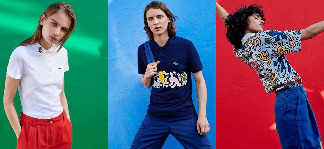 Lacoste × Keith Haring: ритм андерграунда 80-х