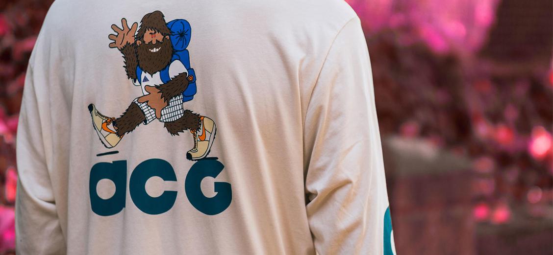 Nike ACG: утеплённый комфорт