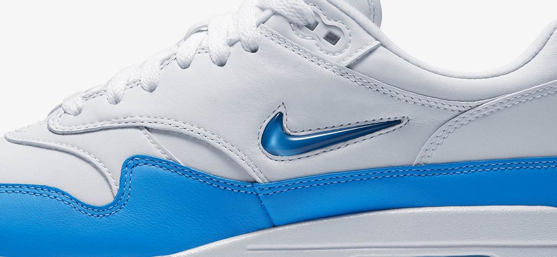 """Nike Air Max 1 Premium SC """"University Blue"""": изящный синий"""