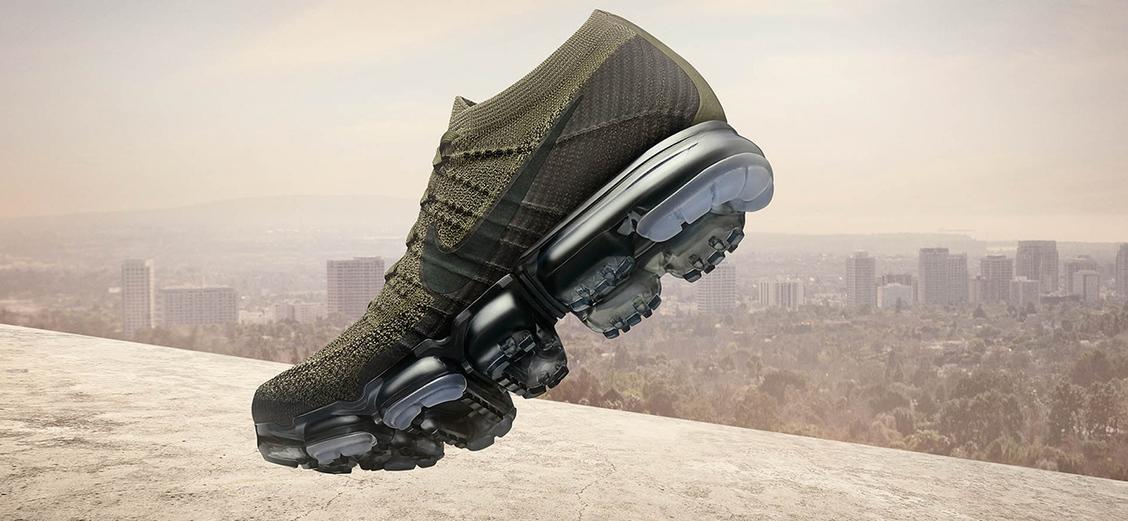 """Nike Air VaporMax """"Cargo Khaki"""" & """"Triple Black"""": на тёмной стороне"""