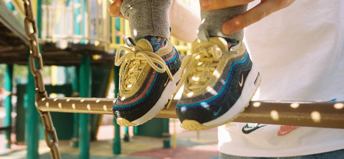 Nike × Sean Wotherspoon Air Max 1/97 SW TD: детская версия