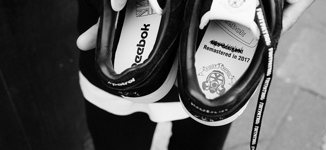 "Reebok × Footpatrol Workout Lo Plus ""Blackbuck"": животный окрас"