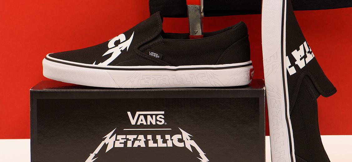 Vans × Metallica: запрограммирован на успех