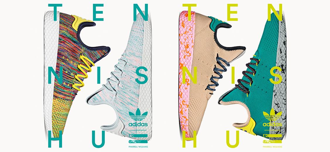 adidas Originals × Pharrell Wiliams Tennis Hu: новые расцветки