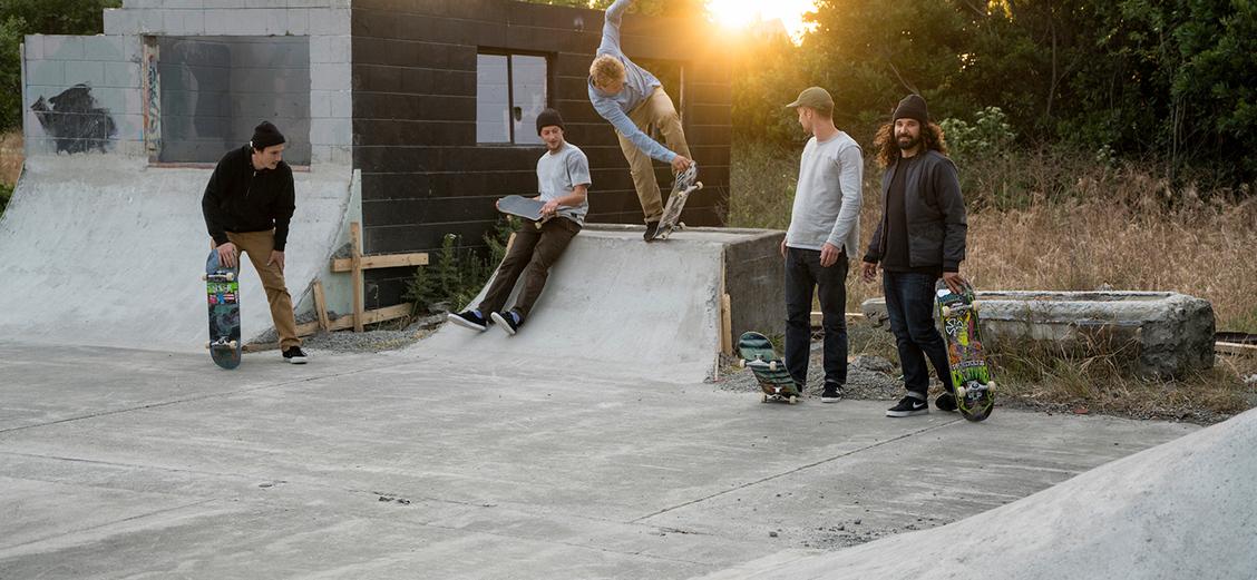 Скейтбординг: Nike SB, Levi's Skateboarding, Carhartt WIP, Stussy