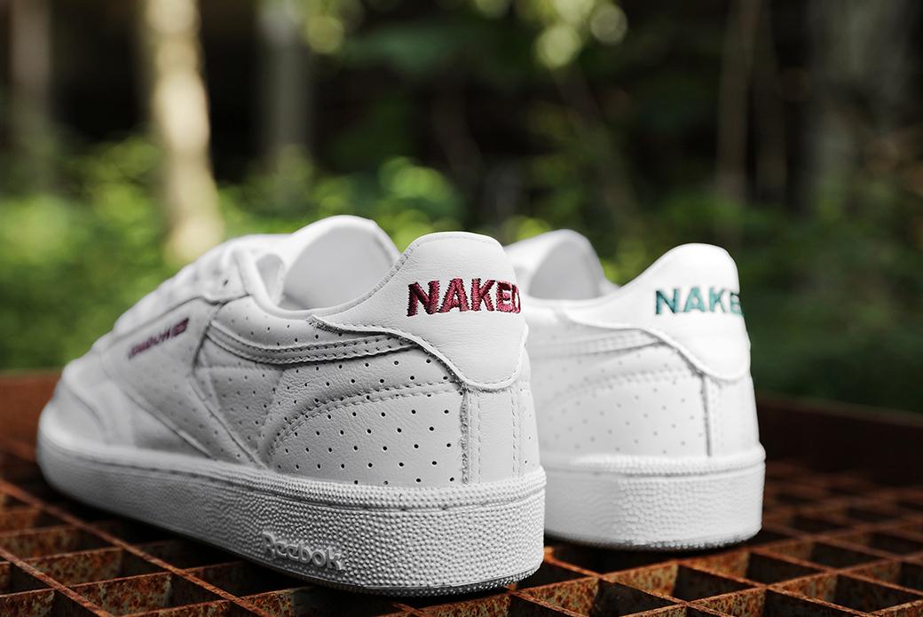 Reebok × Naked: белая феерия лета